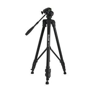 Tripé com altura até 1,9 m e peso máximo suportado de 5 Kg - VIV-TRP750 - Kodak