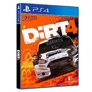 Jogo DIRT 4 para PS4