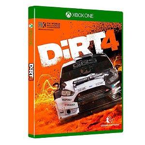 Jogo DIRT 4 para Xbox One