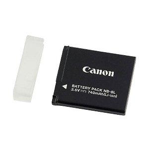 Bateria recarregável para câmeras Canon Powershot A 3100IS e A3000IS - NB8L - Canon