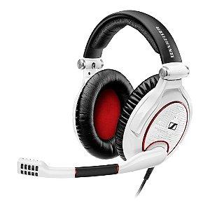 Headset profissional com bloqueador de ruídos para Games e PC branca - G4MEZERO - Sennheiser