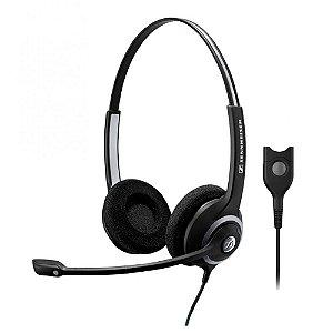 Headset profissional com 2 conchas e microfone inteligente - SC260 - Sennheiser