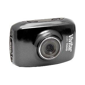 Câmera filmadora de ação HD com caixa estanque e acessórios preta - DVR785HD - Vivitar