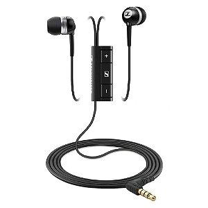 Fone de ouvido tipo earphone com controle e microfone para iPhone - MM701 - Sennheiser