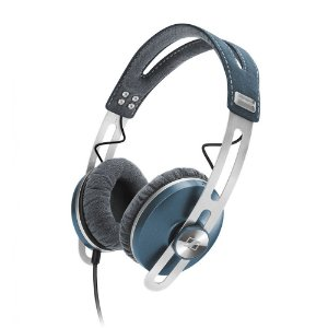 Fone de ouvido tipo headphone com microfone MOMENTUM azul - MMTUMOE - Sennheiser