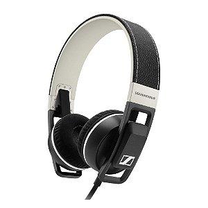 Fone de ouvido tipo headphone dobrável URBANITE GX preta - URBANITEGX - Sennheiser