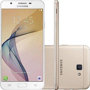 Smartphone Samsung Galaxy J7 Prime G610M/DS Octa Core 1.6Ghz, Android 6.0.1, 13MP, 32GB, Tela 5.5 Leitor Digital, Dual Chip, Desbloqueado - Dourado