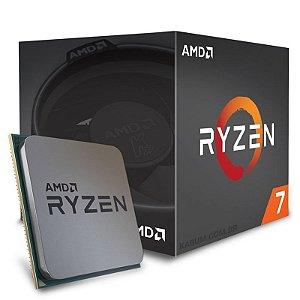 Processador AMD Ryzen 7 1700 c/ Wraith Spire, Octa Core, Cache 20MB, 3.0GHz (3.7GHz Max Turbo) AM4 YD1700BBAEBOX