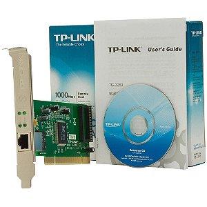 Placa De Rede Tp-Link Tg-3269 Giga Ethernet 10/100/1000