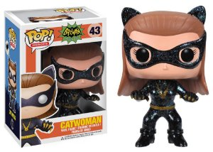 POP! Heróis: Cat Woman 1966 - Funko