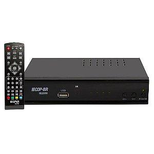 Conversor TV Digital Full Hd c/ Gravador, HDMI, RCA e entrada USB