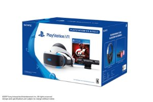 PlayStation VR Bundle: Gran Turismo Sport, Camera, Ps Movie, Headset - PS4 VR - Sony