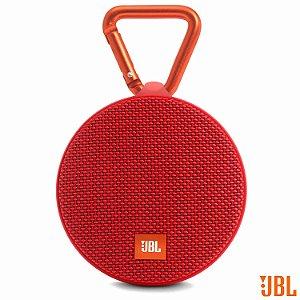 Caixa de som Bluethooth À prova d água JBL Clip 2 Vermelha