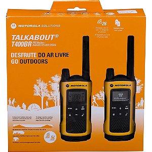 Radio Motorola Talkabout T400MC 56km 2 Fones