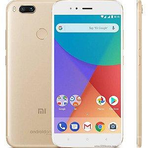 "Smartphone Xiaomi Redmi Mi A1 4GB/64GB LTE Dual Sim Tela 5.5""Câm.12/12MP+5MP-Dourado"