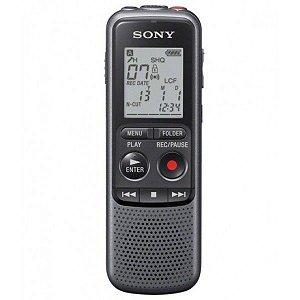 Gravador de Voz Digital Sony ICD-PX240 c/ 4GB e Grava em MP3 até 1043 horas