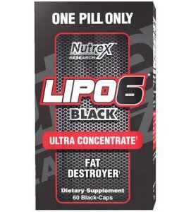 Lipo 6 Black 60 caps (importado) - Nutrex Research