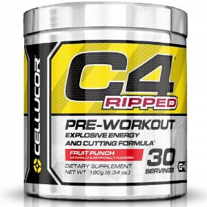 C4 Ripped Pre-Treino (180G) 30 Doses - CELLUCOR