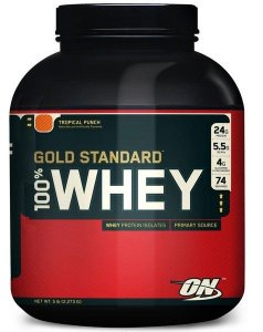 100% Whey Gold Standard 5 Lbs (2,27Kg) - Optimum Nutrition