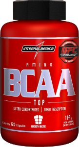 Amino BCAA Top (120 capsulas) - IntegralMédica