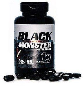 Tribulus com Maca peruana (1000mg) 90 Tablets - Black Monster