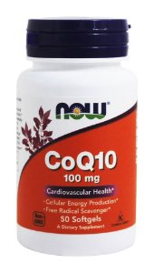 CoQ10 (50softgels) 100mg - Now Foods