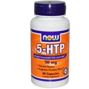 5-HTP 50MG (90 CAPS) - NOW FOODS