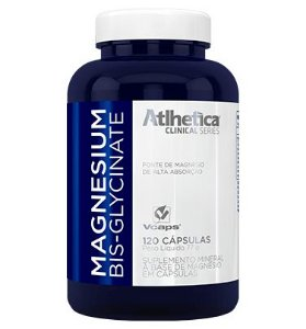 Magnesium Bisglycinate 120 Cáps- Atlhetica Clinical Series