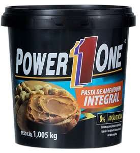 Pasta de Amendoim Power One (1kg)