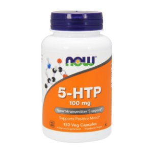 5-Htp 100mg (120 Cápsulas) - Now Foods