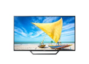 "Smart TV LED 48"" Sony KDL-48W655D com Conversor Digital 2 HDMI 2 USB Wi-Fi"
