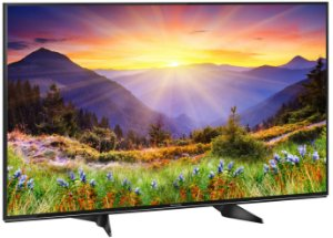 "Panasonic Smart TV LED 55"" 4K Ultra HD HDR com Wi-Fi 3 USB 3 HDMI Hexa Chroma My Home Screen Ultra Vivid e 60Hz - TC-55EX600B"