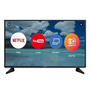 "Smart TV LED 43"" Panasonic 4K/Ultra HD - TC-43EX600B Wi-Fi 3 HDMI 3 USB DLNA"