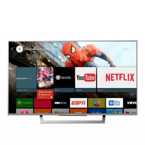 "Smart TV 4K Sony LED 49"" com Android TV, 4K,  Wi-Fi - XBR-49X835D"