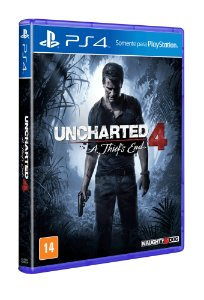 Game - uncharted 4 a thief's end ps4
