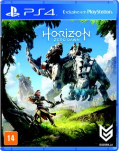 Game - Horizon zero dawn PS4