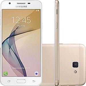 """Samsung Galaxy J5 Prime Dual Chip Android 6.0 Tela 5"""" Quad-Core 1.4 GHz 32GB Câmera 13MP - Dourado"""