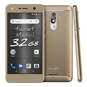 Smartphone Positivo Twist Metal S531 32GB - Dourado