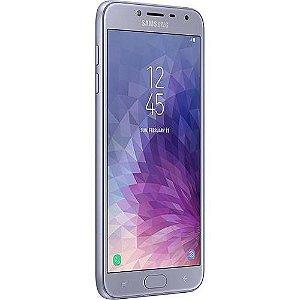 "Samsung Galaxy J4 32GB Dual Tela 5.5""Câmera 13MP - Prata"