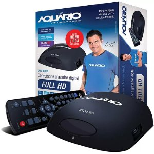 Conversor e Gravador Digital TV Full HD Aquário DTV 5000 Bivolt.