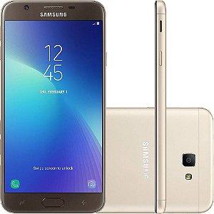 """Samsung Galaxy J7 Prime2 Dual Tela 5.5"""" 32GB 4G Câmera 13MP - Dourado"""