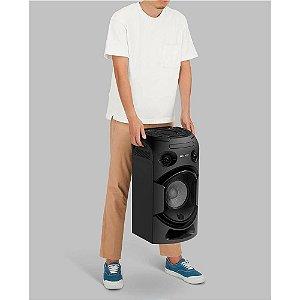 Mini System Sony MHC-V21D com Mega Bass, USB, Bluetooth com NFC, HDMI