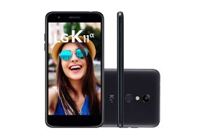 "LG K11 Alpha, Dual Chip, Tela 5.3"",8MP, 16GB- Preto"