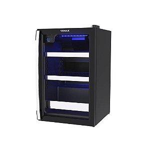 Cervejeira Venax 82L - Preto Fosco - Blue Light 100 - 110V