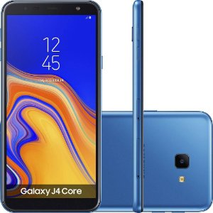 "Samsung Galaxy J4 Core 16GB Dual Tela 6"" Câmera 8MP- Azul"