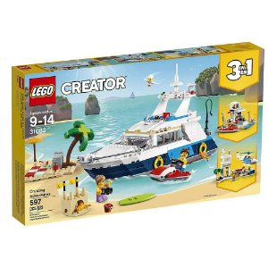 Lego Creator - 3 Em 1 - Um Belo Dia De Praia