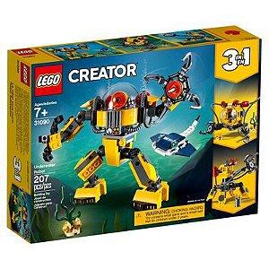 Lego Creator - 3 em 1 - Robôs Subaquáticos