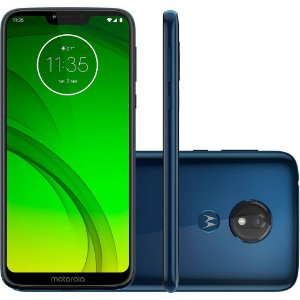 Motorola Moto G7 Power XT1955 32GB Dua, Android Pie - 9.0, 12MP - Azul Navy