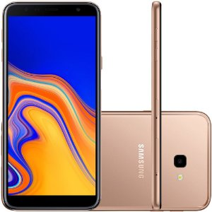 "Samsung Galaxy J4+ 32GB Dual Tela 6"" Câmera 13MP 5MP - Cobre"