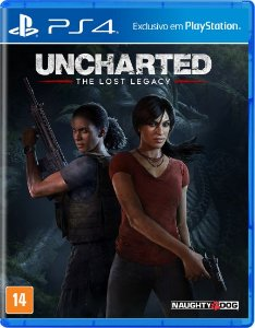 Game - Uncharted - The Lost Legacy - PS4